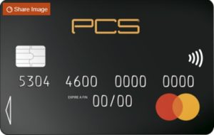 carte black pcs mastercard
