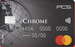carte chrome pcs mastercard