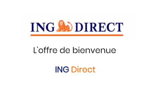 offre bienvenue 80 euros ing direct
