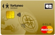 CB gold mastercard fortuneo