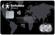 CB world elite mastercard fortuneo