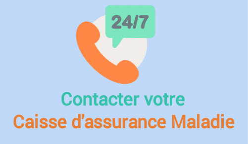 contacter assurance maladie