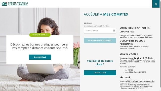 credit agricole particulier